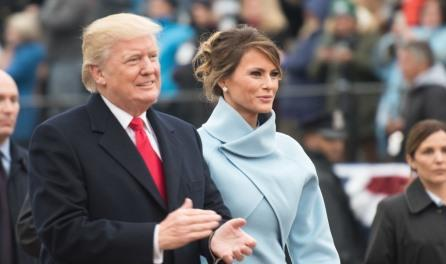 1Donald and Melania Inaugural parade 01-20-17
